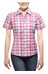 axant Alps Travel Shirt Agion Active Women violet/grey check
